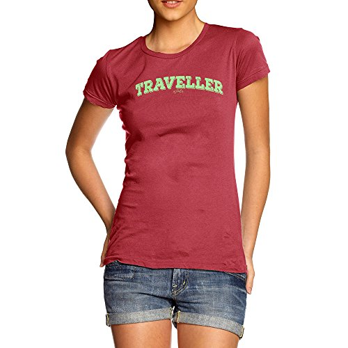 TWISTED ENVY Funny T-Shirts for Women Sarcasm Traveller