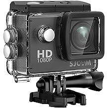 SJCAM SJ4000Acción Cámara 4K 1080P WIFI Impermeable 170¡ãWide lente de ángulo, color negro azabache