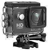 SJCAM SJ4000 1080P Action Kamera 12MP Wasserdichte Unterwasserkamera mit 170 ° Weitwinkel 2,0 Zoll...