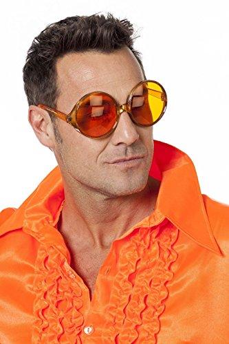 Wilbers 20006 Sonnenbrille 70er Jahre Orange