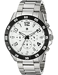 Charles-Hubert, Paris Men's 3977-W Premium Collection Analog Display Japanese Quartz Silver Watch