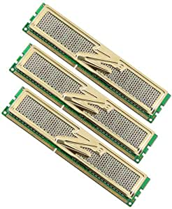 OCZ OCZ3G1600LV6GK DDR3 PC3-12800 Gold Triple Channel Memory