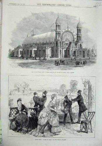 Strang Theater-Ausstellung 1870, die Alfred Sydney Errichtet