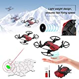 Mini Foldable Drone with Camera High Performance RC Helicopter Practical Quadcopter Toy Portable