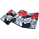 Loop Linens Hangout@Home Floral Pattern 4 Fold Single Bed Foldable 2 Inch Epe Foam Space Saving Mattress 72'' X 35'' X 2''
