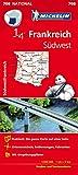 Michelin Südwestfrankreich: Straßen- und Tourismuskarte Frankreich 1:500.000 (MICHELIN Nationalkarten)