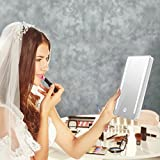Terresa Schminkspiegel, Spiegel mit Beleuchtung, Natürliche LED-Beleuchtung, Dimmbar, USB-Aufladung oder Batteriebetrieben, Automatische Abschaltung, Portabel und Kompakt für Kosmetische Schönheits-Reise - 7