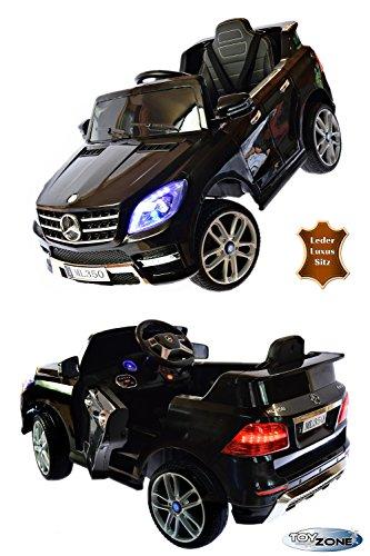 Kinderfahrzeug Mercedes ML350 4 Matic EVA Leder Sitz Elektroautos Kinder Elektro Auto 2,4 GHZ RC Steuerung