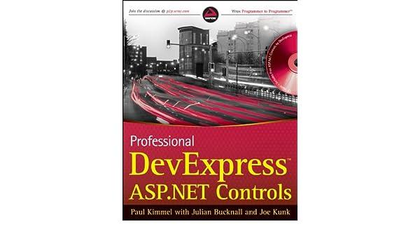 Buy Professional DevExpress ASP NET Controls (Wrox