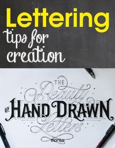 Lettering. Tips for creation por Eva Minguet