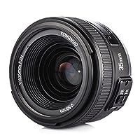 Yongnuo Objectif à focale fixe YN 35 mm F2 grande ouverture AF / MF pour Nikon appareil photo + Sac de transport  Il s'agit d'un objectif fabriqué par Yongnuo à grande ouverture F2 et à la prise de grand angle pour Nikon. Vous vous amuserez la prise ...