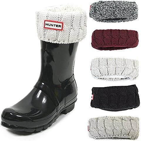 Hunter six-stitch calcetines para botas para Original Corto Botas