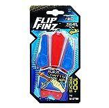 VIDOO Flip Finz Stress Relief Verbessern Focus Neuheiten Spielzeug Hand Training Anti Stress Gadgets Leuchten-Rot