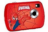 Lexibook LE-DJ018SP Fotocamera Digitale per Bambini, 1.3 Mp, Spiderman, Rosso/Blu