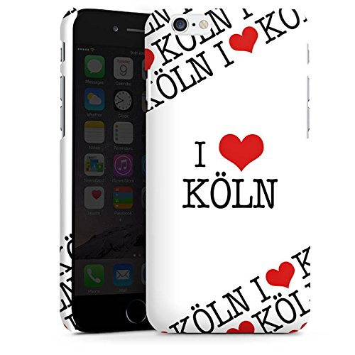 Apple iPhone X Silikon Hülle Case Schutzhülle Köln Cologne Statement Premium Case matt