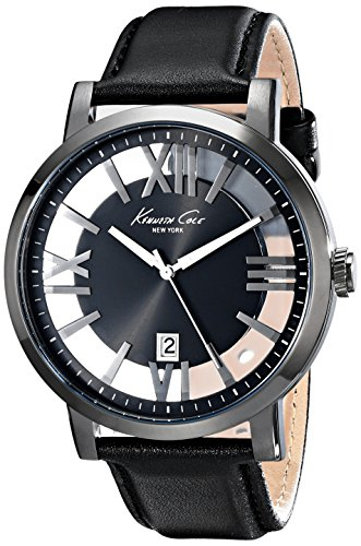 Kenneth Cole New York See-Through Dial Men's Watch #KC8012