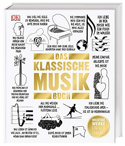 Das Klassische-Musik-Buch: Wichtige Werke einfach erklärt