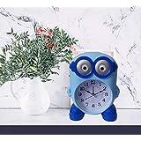 Newest Arrival Cutest Cartoon Print Table Alarm Clock, Kids Room Decor -Minion
