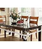 Griiham transparent 6 seater table cover...