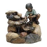 KÖHKO® Wasserspiel Kinderspiel 12001 Gartenbrunnen Springbrunnen Brunnen für Garten