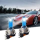 Carrep H15 15/55 W Xenon 7500K Superweiße Halogenlampe, Scheinwerferlampe, 12V, 2 Stück