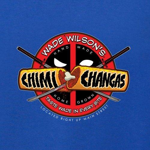 Wade Wilsons Chimi Changas - Herren T-Shirt - 13 Farben Royalblau