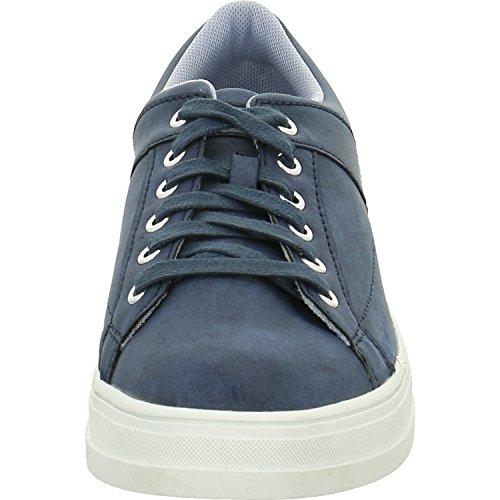 ESPRIT  027ek1w031, Chaussures de ville à lacets pour femme Bleu foncé