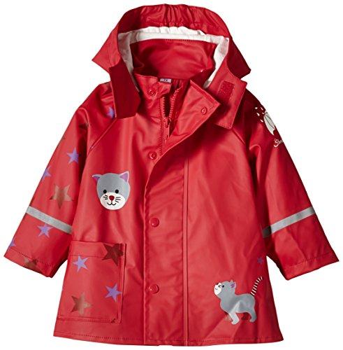 Sterntaler Baby - Mädchen Regenhose 5651502, Gr. 122, Rot (rubin 804)