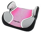 Osann Kinderautositz Autositzerhöhung Booster Topo Luxe Pop Pink rosa grau, 15 bis 36 kg, ECE Gruppe 2 / 3, von ca. 3 bis 12 Jahre, mit integrierter Gurtführung