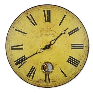 Roger Lascelles Horloge murale suisse avec pendule