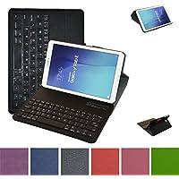 Samsung Galaxy Tab E 9.6 Bluetooth Tastiera Custodia,Mama Mouth Staccabile