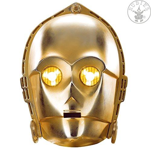 Karton Maske C -3 PO - Star (Wars Star Po Kostüm)