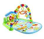 Intelligent Piano Gym Play Mat Infant Play Gym Activity Music Mat Multifunctional Kicking, Playing Piano Gym Piano...