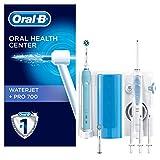 Oral-B Sistema Pulente Idropulsore Waterjet + Spazzolino Elettrico Ricaricabile PRO 700 con 4...