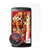 atFolix Schutzfolie passend für Lenovo Vibe X3 Lite / K4 Note Folie, entspiegelnde & Flexible FX Bildschirmschutzfolie (3X)