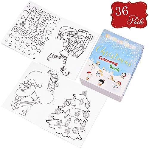 36 Mini libros Navideños colorear - Ideales rellenar