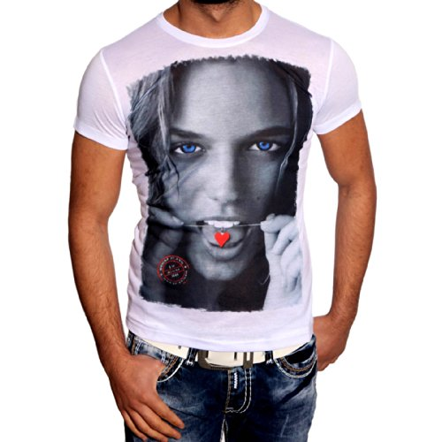 T-Shirt 6629 R-Neal Weiß