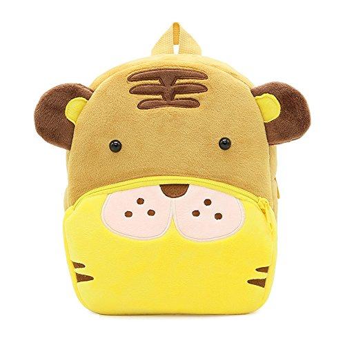 Niedlicher Plüsch-Mini-Baby-Rucksack, Kinderkindergarten-Rucksack, Tiger (Disney-plüsch-tiger)