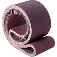 Pack of 5 Cloth Backing 48 Length, 25 Width 3M 33462 Cloth Belt 341D 25 x 48 P180 X-Weight Aluminum Oxide Abrasive Grit