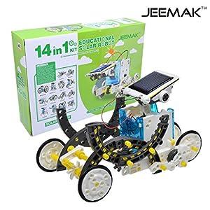 51bVn1CG SL. SS300  - JEEMAK 14-en-1 para la Educación Solar Robot Kit