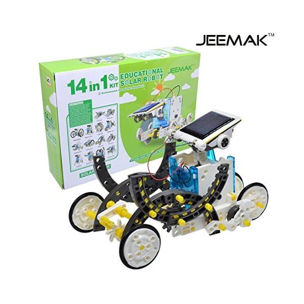 51bVn1CG SL. SS600  - JEEMAK 14-en-1 para la Educación Solar Robot Kit