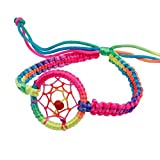 Yogogo Mode Leder Nette Charme Campanula Traum Fänger Armband für Damen Frauen Mädchen (A)