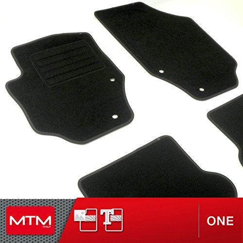 MTM Alfombrillas 307 CC desde 2003-, a Medida en Velour Antideslizante One cod. 7360