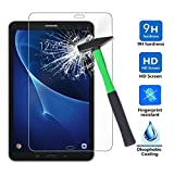 Galaxy Tab A 10.1 Displayschutz , Infiland Glas Folie Schutzfolie Glas Panzerfolie Displayschutzfolie für Samsung Galaxy Tab A 10.1 Zoll Wi-Fi/ LTE (2016) SM-T580N/SM-T585N Tablet-PC(Tempered Glass)