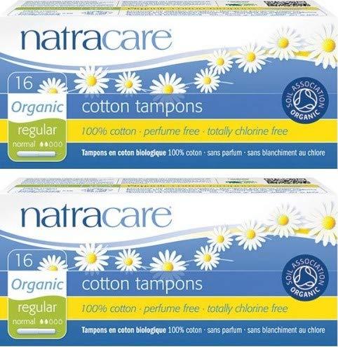 Tampones aplicadores algodón orgánico Natracare