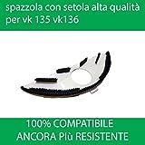 SOTTO SPAZZOLA CON SETOLE PER HD 35 FOLLETTO VK 135 vk 136 100% compatibile