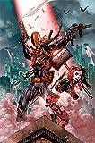 DC Comics Suicide Squad Deathstroke & Harley Quinn Maxi Poster 61x 91,5cm, unbeschichtet, 61 x 91 cm