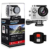 AKASO Action Cam 4K WiFi Sport Action Kamera 170°Ultra Weitwinkel Full HD Camera mit 12MP...