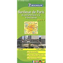 Banlieue de Paris : 1/53 000