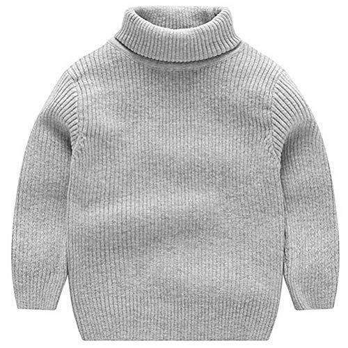ARAUS Cardigan Tricot Souple Garçon Bébé Enfant Fille Longues Manches Souple Automne Hiver Sweater 1-7ans